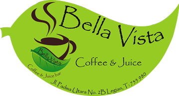 logo bella vista legian coffe shop & juice bar
